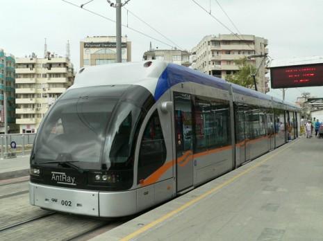 афіни, трамвай
