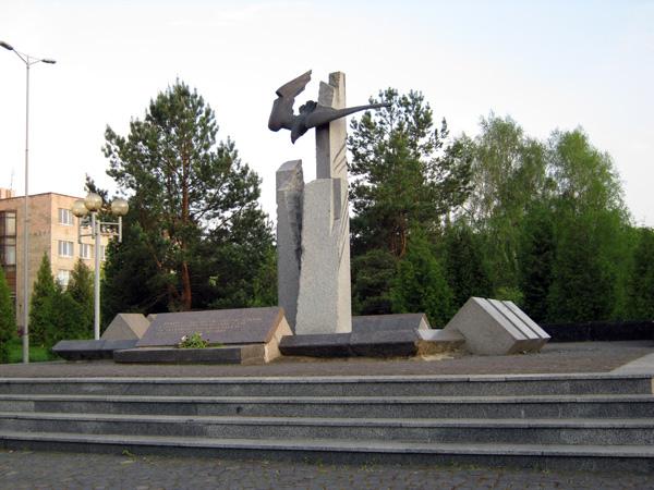 Пам'ятник загиблим в Афганістані