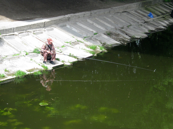 Риболовля на річці Устя