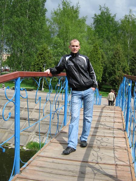 На мості через Устя