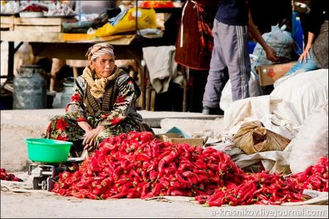 Шматочок узбецького базару