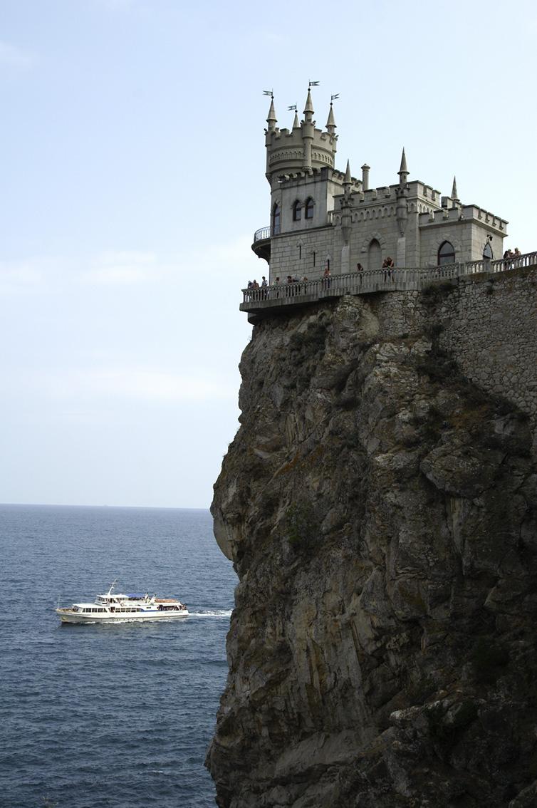 Ukraine. Crimean peninsula SWALLOW'S NEST