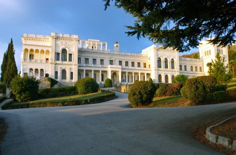 Ukraine.  Crimea peninsula LIVADIA PALACE.