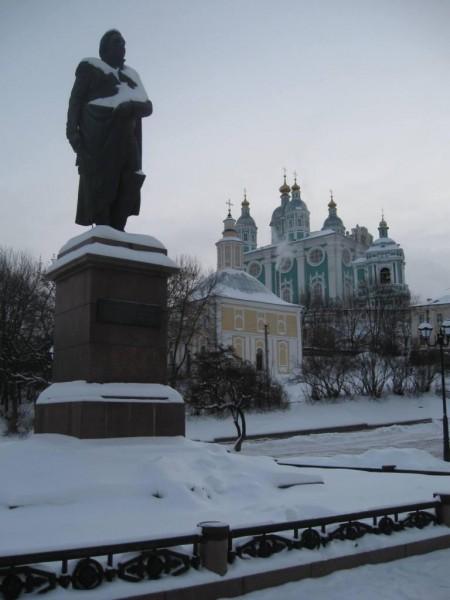 Пам'ятник Кутузову та Успенський собор