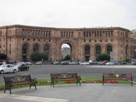 Єреван. Площа Республіки