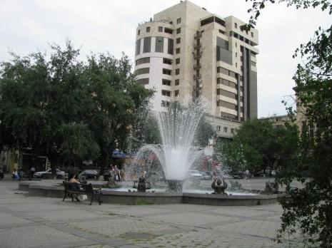 Єреван. Фонтан