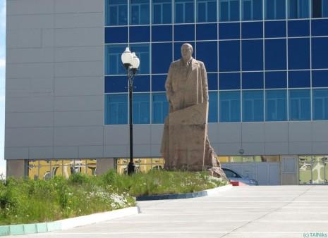 Анадир. Пам'ятник Леніну