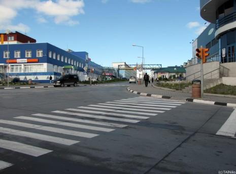 Анадир. Пішохідний перехід