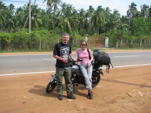 Мотоциклом по Шрі-Ланці