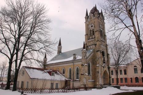 єдиний діючий в Білорусі лютеранський храм