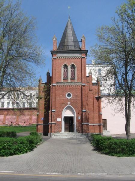 Лютэранская кірха. Нині в її приміщенні знаходиться краєзнавчий музей